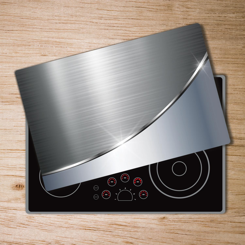 Glas-Herdabdeckplatte Ceranfeldabdeckung Spritzschutz 80x52 Italienisches Essen