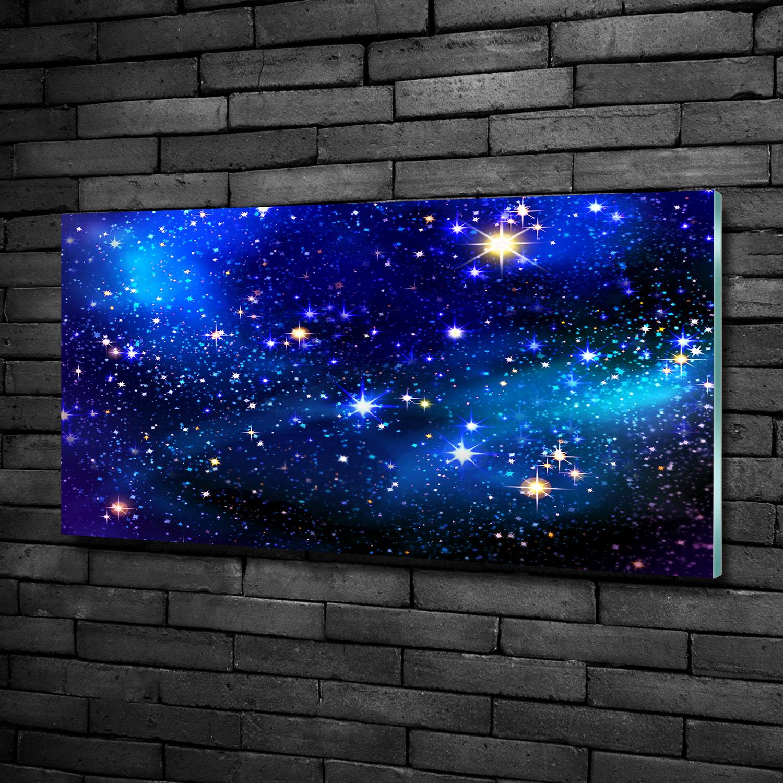 Glas-Bild Wandbilder Druck auf Glas 100x50 Weltall /& Science-Fiction Planet Erde