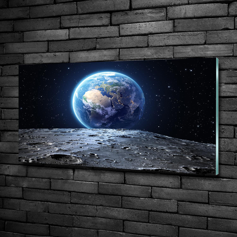 Glas-Bild Wandbilder Glas-Druck 100x50 Weltall /& Science-Fiction Sonnensystem