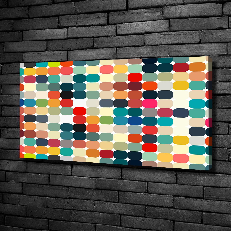 Leinwandbild Kunst Druck 100x50 Bilder Kunst Geometrische Figuren Ebay