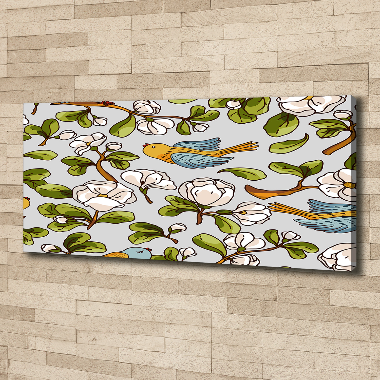 Leinwand-Bilder Wandbild Canvas Kunstdruck 125x50 Katzen Tiere