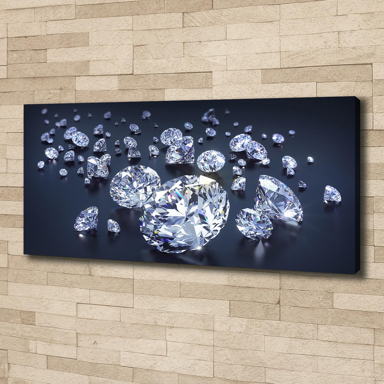 Leinwandbild Kunst-Druck 125x50 Bilder Sonstige Steinmauer