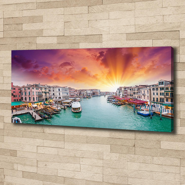 Leinwandbild Kunst-Druck 125x50 Bilder Landschaften Italienische Straße