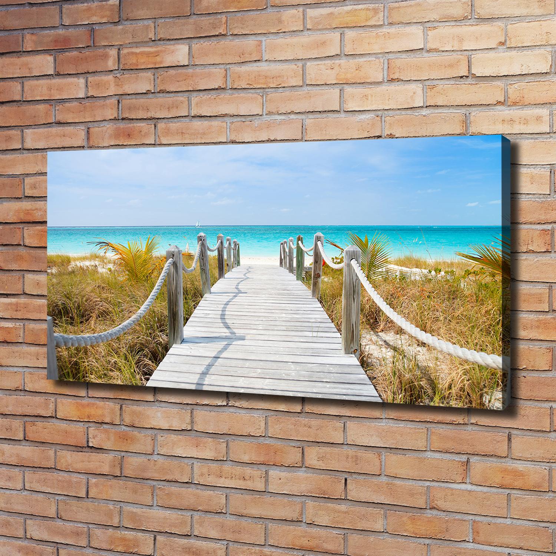 Leinwandbild Kunst-Druck 120x60 Bilder Landschaften Grotte am Meer