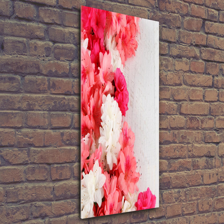 Wand-Bild Kunstdruck aus Acryl-Glas Hochformat 50x125 Abstraktes