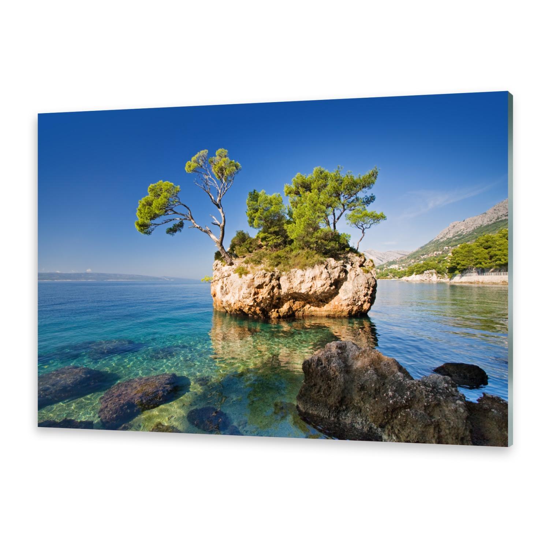 Leinwandbild Kunst-Druck 100x50 Bilder Landschaften Dalmatien Kroatien