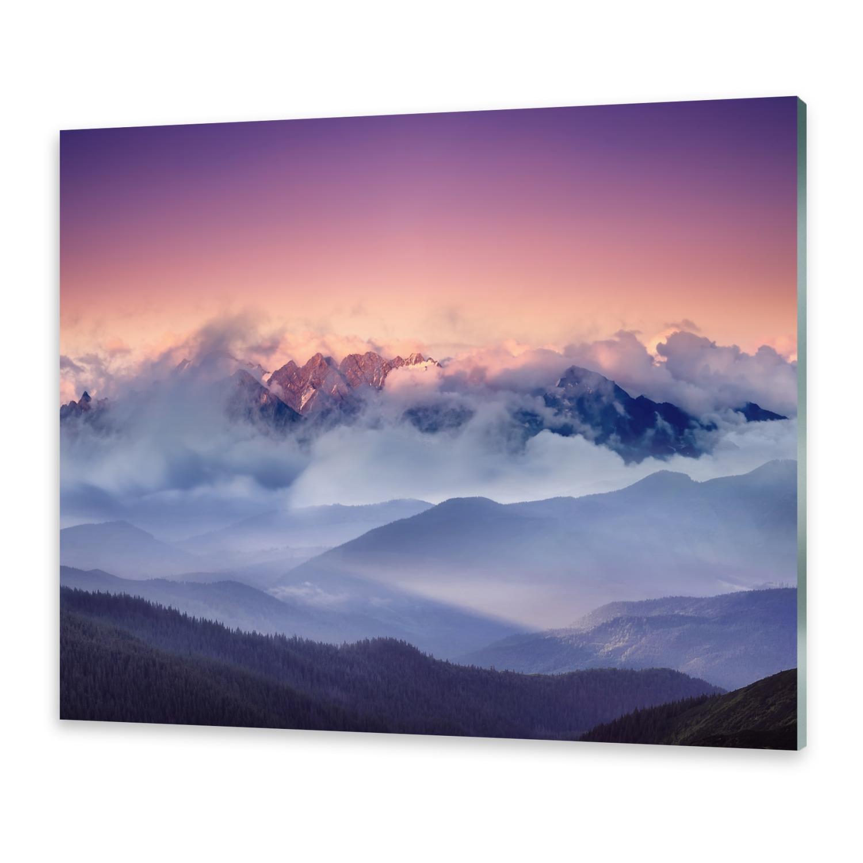 Acrylglasbilder Wandbild aus Plexiglas® Bild Schweizer Alpen